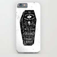 iPhone Cases featuring Poison by Jon Contino