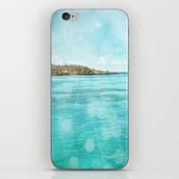 Caribbean Blue iPhone & iPod Skin