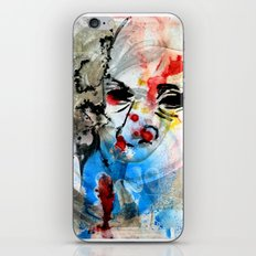 The Face Of The Saint iPhone & iPod Skin