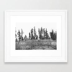 The Dancing Woods Framed Art Print