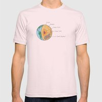 What Really Makes The World Go Round Mens Fitted Tee Light Pink SMALL