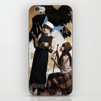The Feather of Finest the Falcon iPhone & iPod Skin