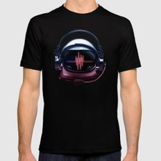 Radiohead SMALL Mens Fitted Tee Black