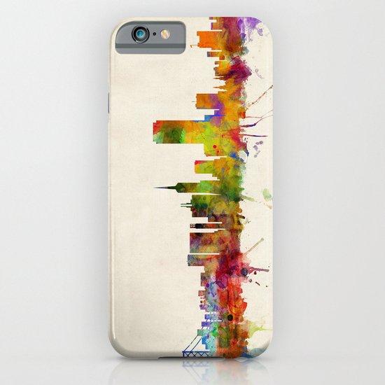 San Francisco City Skyline iPhone & iPod Case