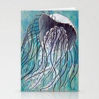 Blue Jelly Stationery Cards