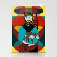 Goat Herder 2 Stationery Cards