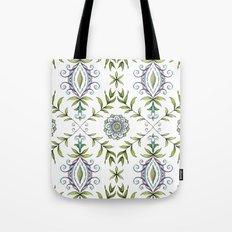 Nature's Damask Tote Bag