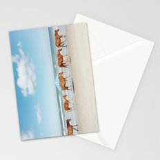 Summer Coast Horse Stride Stationery Cards