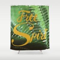 Free Spirit Shower Curtain