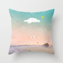 Throw Pillow - THE LAST MESSENGER - ARCHIGRAF