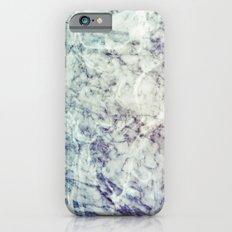 Marble blue Slim Case iPhone 6s
