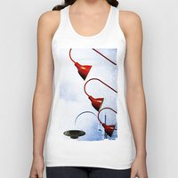 Red Lights Unisex Tank Top