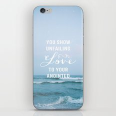 UNFAILING LOVE iPhone & iPod Skin