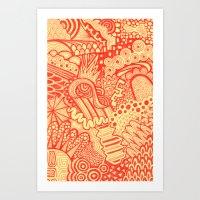 Discompose  Art Print