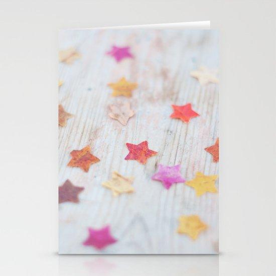 Stars Stationery Card