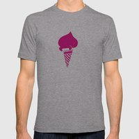 Gelati 1 Mens Fitted Tee Athletic Grey SMALL