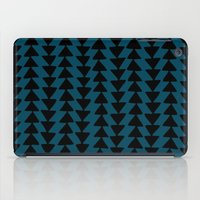 Blue Arrows iPad Case