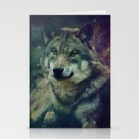 WOLF II colored Stationery Cards