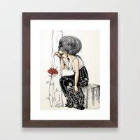 Romantic Framed Art Print