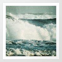 Splash ! Art Print