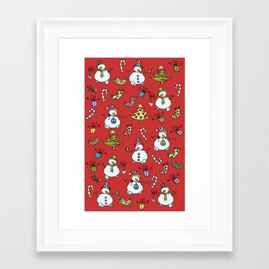 Christmas Framed Art Print