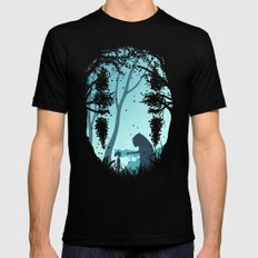 Lonely Spirit Mens Fitted Tee Black SMALL