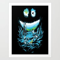 Cave-ities Art Print