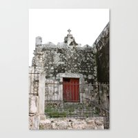 Stay Out Canvas Print