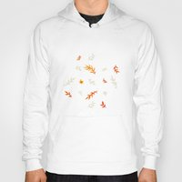 Watercolor Autumn Hoody