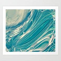 Neptune's Wild Ocean Art Print