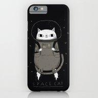 Space Cat iPhone 6 Slim Case