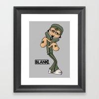 BLANKM GEAR - BREAKDANCE… Framed Art Print