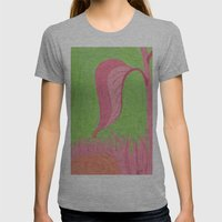 Beyond Color #4 - After the Rain Womens Fitted Tee Athletic Grey SMALL