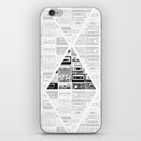 ▲ Triangle Cassettes △ iPhone & iPod Skin