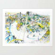 Mesogi Art Print
