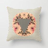 C.W. Ix Throw Pillow