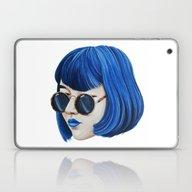 Laptop & iPad Skin featuring Blue by Cannibal Malabar