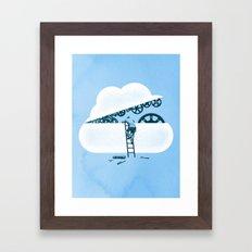 Tune Up Framed Art Print