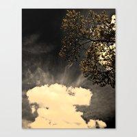 a dark day,, Canvas Print