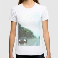 Accidental Photo Womens Fitted Tee Ash Grey SMALL