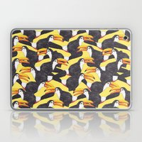 Toucans [yellow] Laptop & iPad Skin