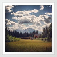 Mountain Watershed Art Print