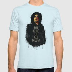 Howard Stern Mens Fitted Tee Light Blue SMALL
