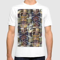 concentrated defense : concentric definition White SMALL Mens Fitted Tee