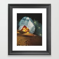Liars (destiny...) Framed Art Print
