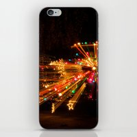 Candy Cane Lane Chevy Tr… iPhone & iPod Skin
