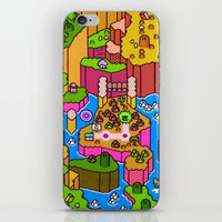 SMW World 2 iPhone & iPod Skin