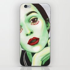 Close Up 2 iPhone & iPod Skin