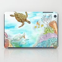 Turtle Reef iPad Case