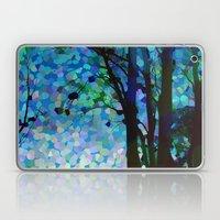 Blue Raspberry Jellybean Skies Laptop & iPad Skin